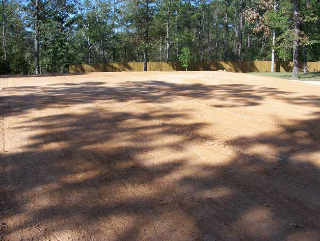 Residential Pad Site Construction in Magnolia, TX