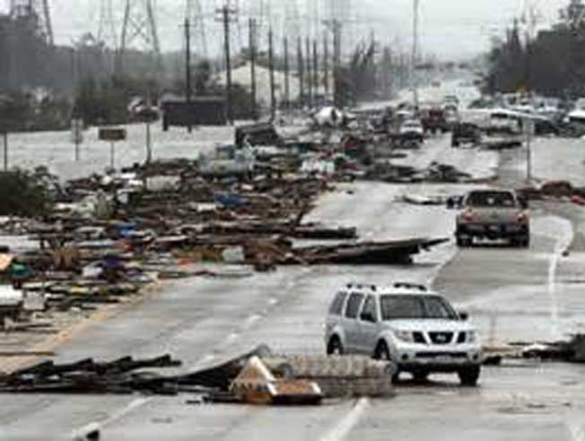 Hurricane Clean Up in Magnolia, TX
